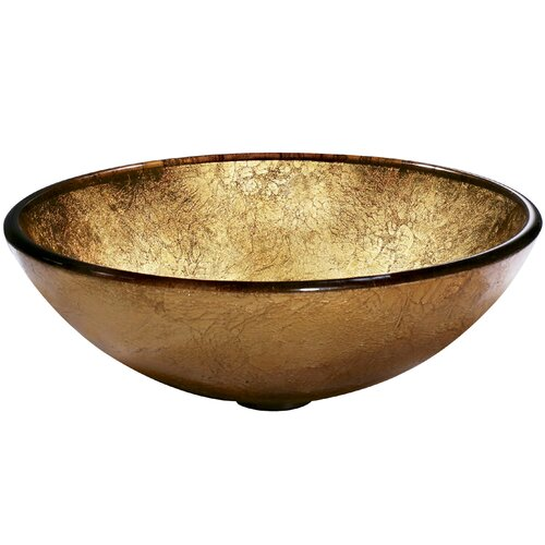 Vigo Liquid Gold Bathroom Sink