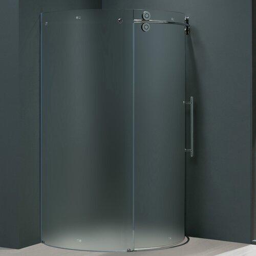 Frameless Round Neo Angle Right Side Shower Door Wayfair