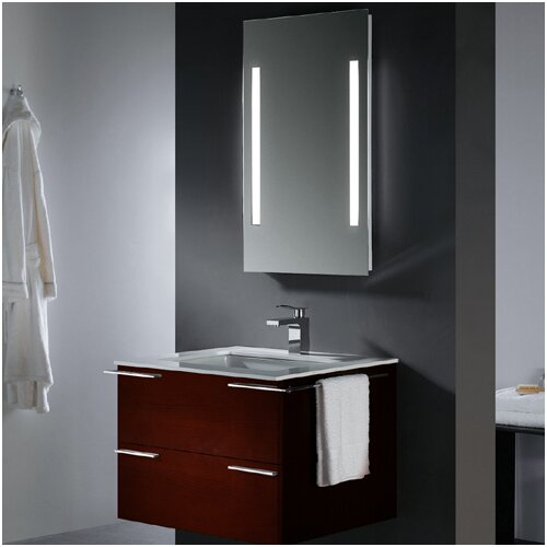 "Vigo Endearing 31.25"" Wall Mounted Bathroom Vanity Set"