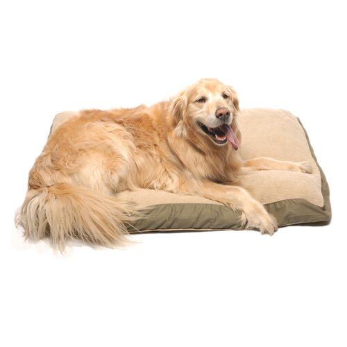 Zoey Tails Four Season Dog Pillow with Cashmere Berber Top
