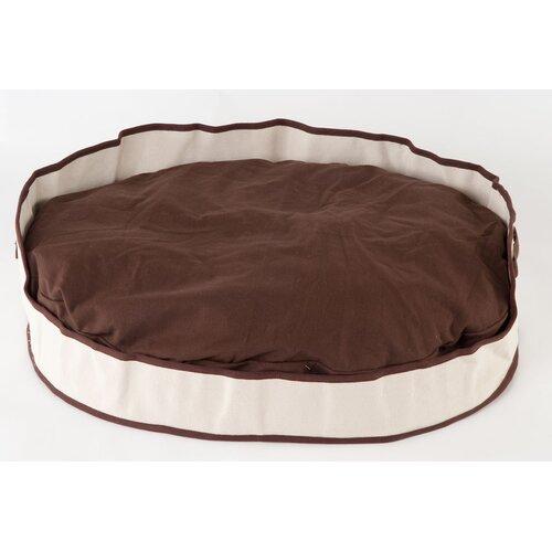 Tote Cuddler Oval Bolster Dog Bed