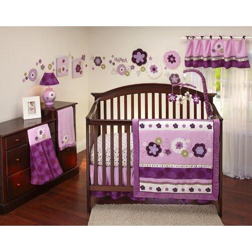 Pretty in Purple 9 Piece Crib Bedding Set