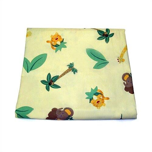 NoJo Jungle Babies Crib Sheet