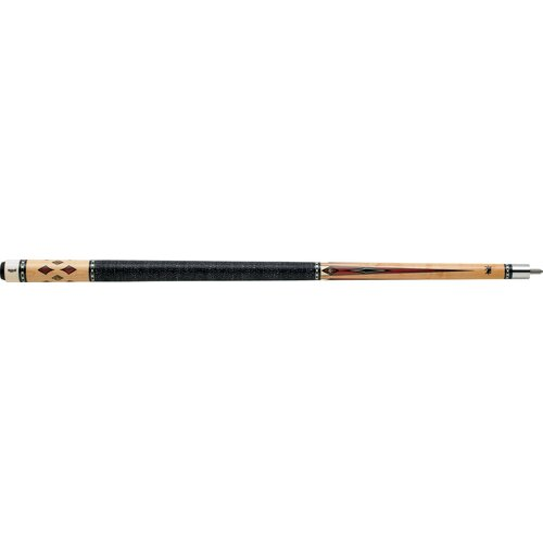 Griffin Cues Classic Design Pool Cue with Thin Silver Ring Collar