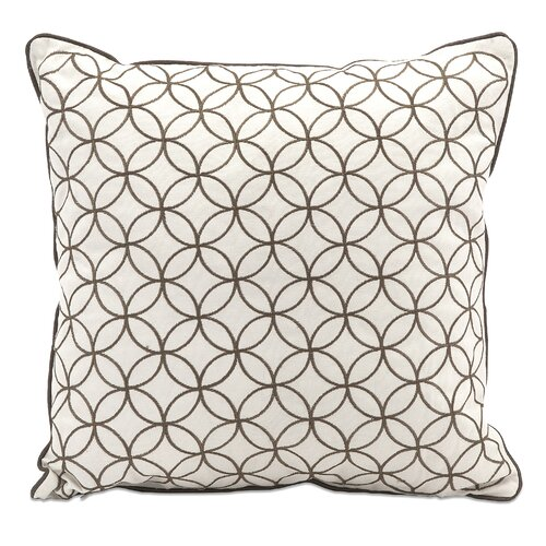 IMAX Essentials Embroidered Cotton Pillow