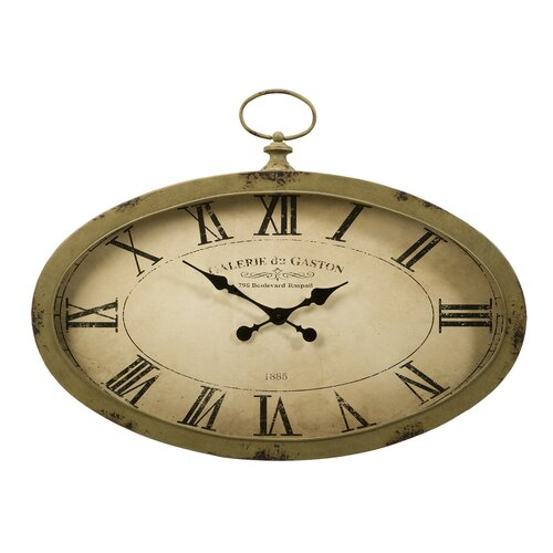 IMAX Sophie Oval Wall Clock