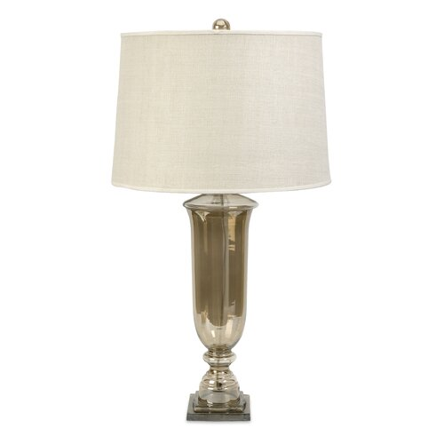 "IMAX Patton Urn 23.75"" H Table Lamp with Drum Shade"