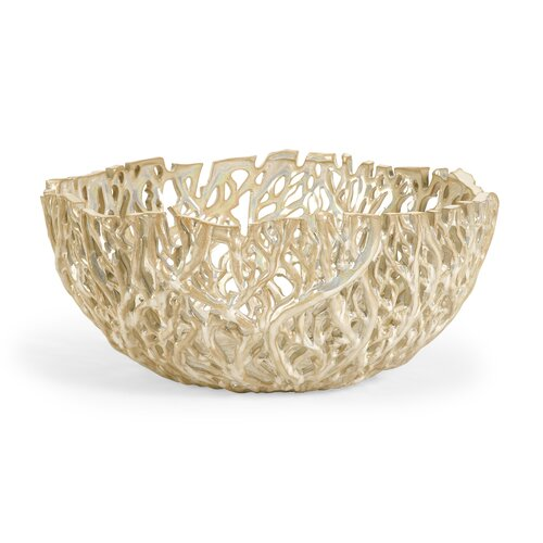 IMAX Vargas Cutwork Decor Bowl