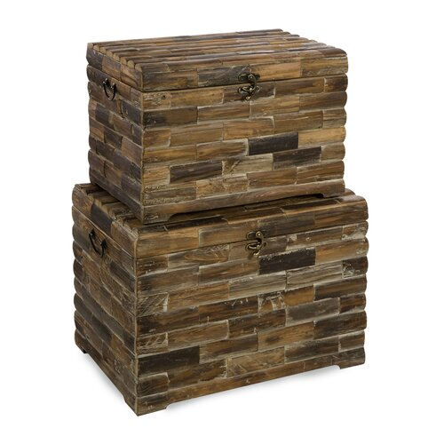 IMAX Moreton Wood Trunk Set