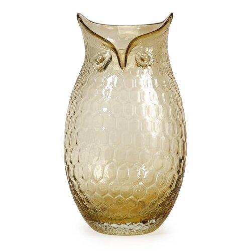 Ambra Owl Vase