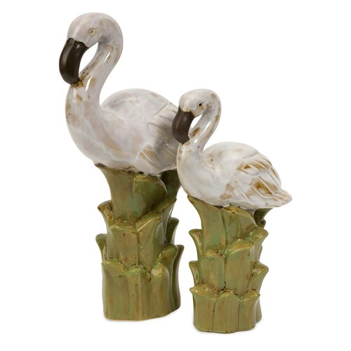 IMAX 2 Piece Powell Coastal Birds Figurine Set
