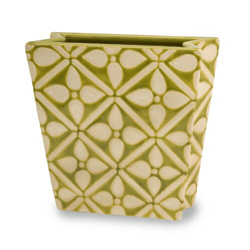 Cross Lattice Container Vase