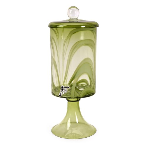 Brockton Hand Made Glass Drink Dispenser