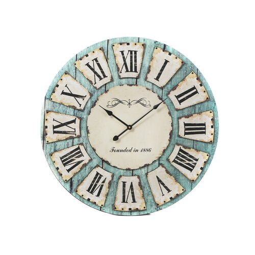 "IMAX Sabra Oversized 23.75"" Wall Clock"