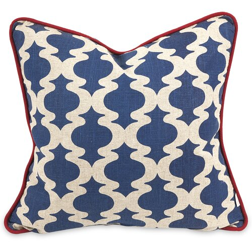 IK Printed Linen Pillow