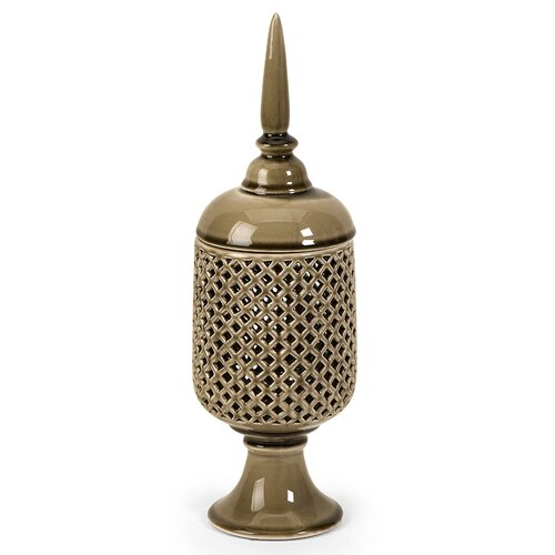 Polard Cutwork Decorative Canister