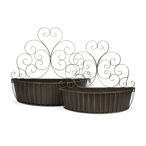 Avellino 2 Piece Wall Planter Set