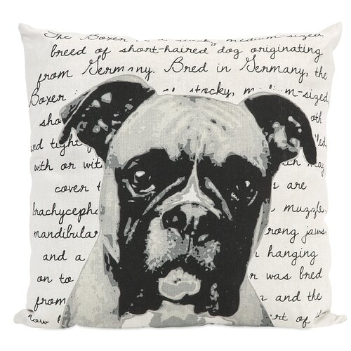 Boxer Heritage Pillow