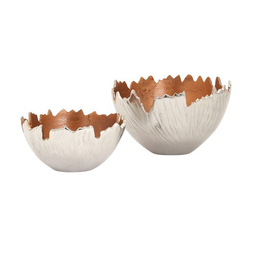 2 Piece Howard Aluminum Bowl Set