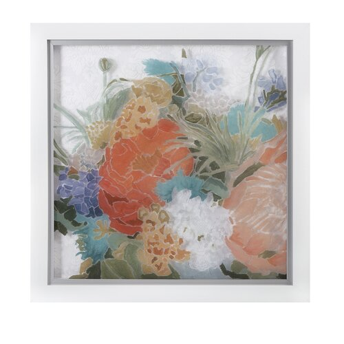 Alexandrai Floral Framed Painting Print