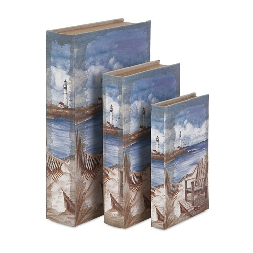 3 Piece Seaside Book Box Set