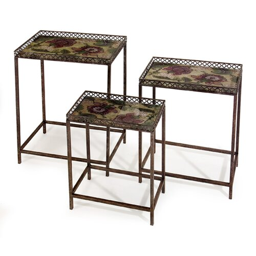 Sale alerts for IMAX  Maniera 3 Piece Nesting Tables  - Covvet
