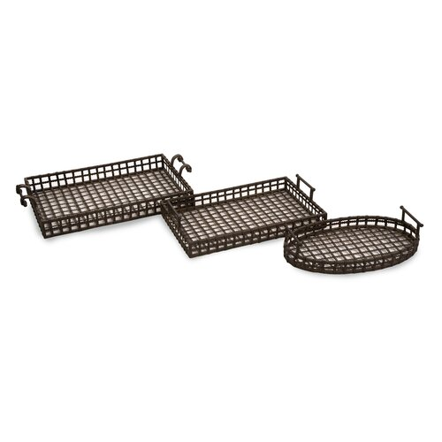 IMAX Urban Serving Tray (Set of 3)