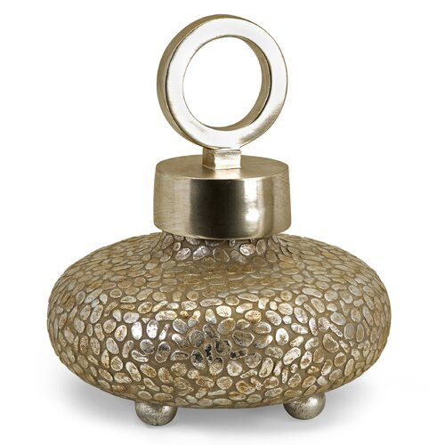 IMAX CK Round Myriad Lidded Decorative Urn