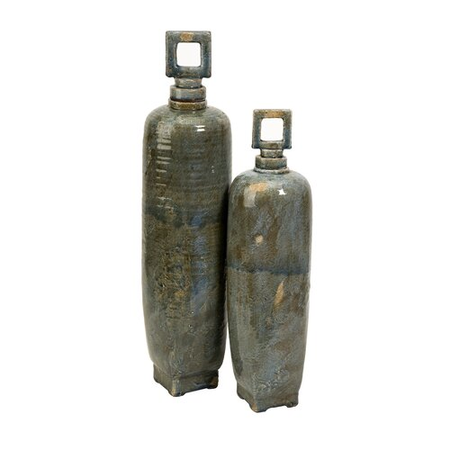 IMAX 2 Piece Laertes Decorative Bottle Set