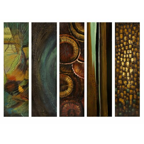 IMAX Harper 5 Piece Graphic Art Canvas Set