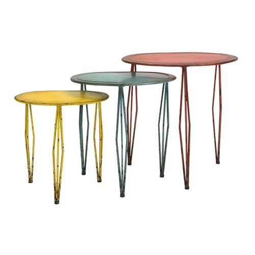IMAX Reed 3 Piece Nesting Tables