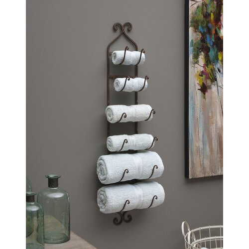 IMAX Wall Mounted Towel/Blanket/Wine Rack & Reviews  Wayfair