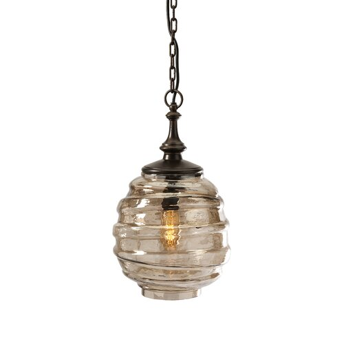 Percy Glass 1 Light Pendant