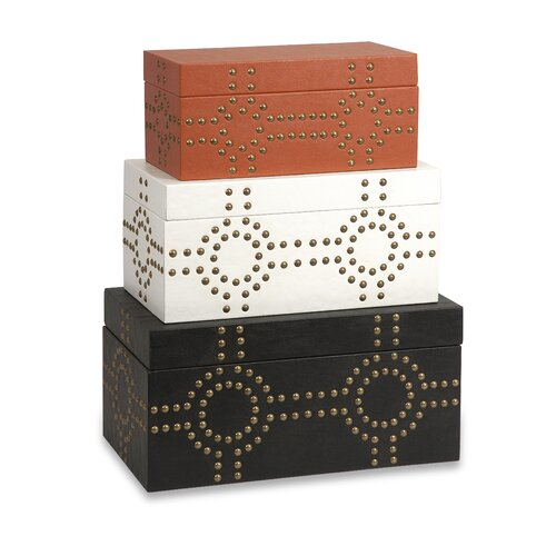 Jordan Studded Box (Set of 3)