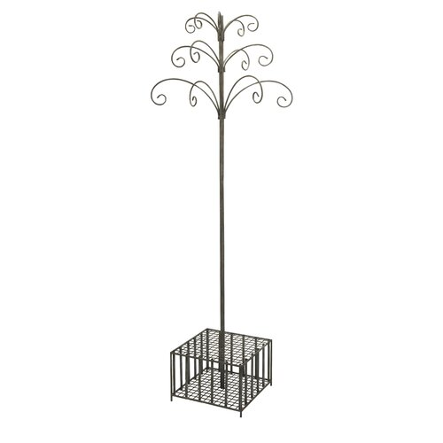 Garden Stake and Wind Chime Display