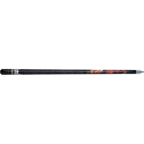Mayhem Dragon Pool Cue in Black Stained maple