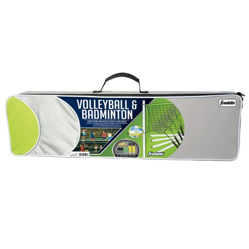 Intermediate 11 Piece Badminton and Volleyball Set