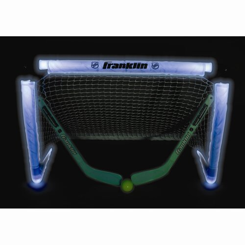 Franklin Sports NHL Mini Hockey Light-Up Goal Set
