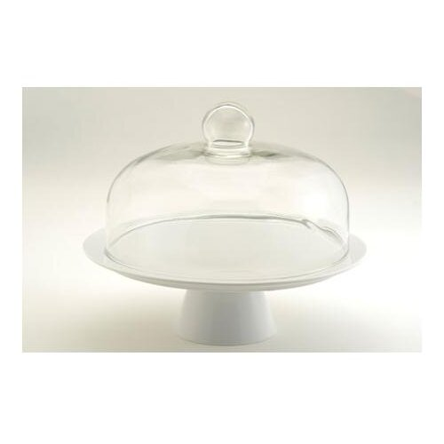 The DRH Collection Pedestal Cake Stand With Dome