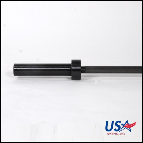 "USA Sports by Troy Barbell 60"" Olympic Bar in Black"