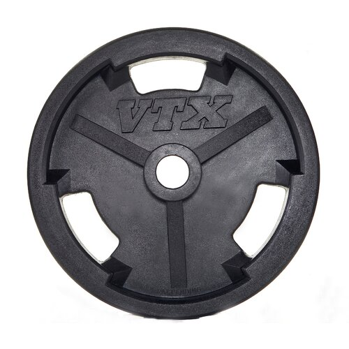 25 lbs Olympic Rubber Grip Plate