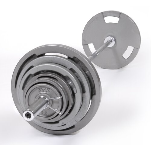 VTX by Troy Barbell Olympic Grip Plate Weight Set