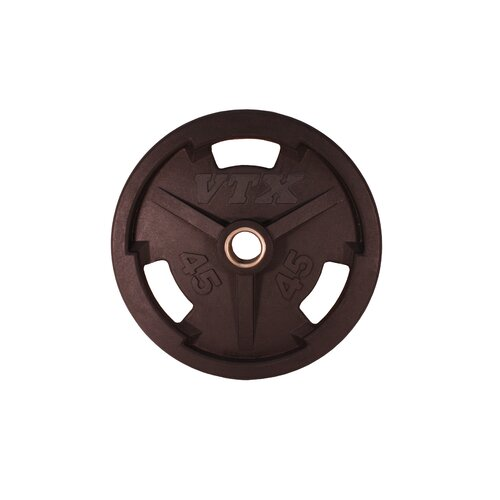 45 lbs Olympic Rubber Grip Plate