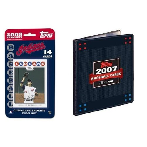 Topps MLB 2008 Trading Card Set - Cleveland Indians