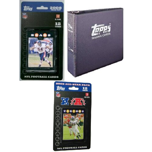 Topps NFL 2008 Trading Card Gift Set - Chicago Bears