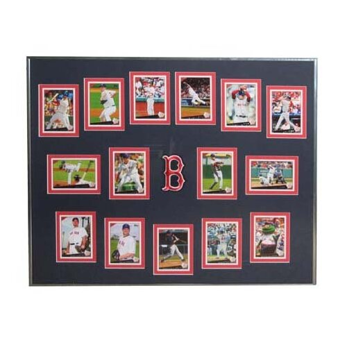 Topps MLB 2009 Trading Cards Framed Set -Boston Red Sox