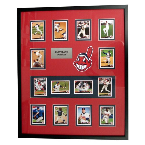 Topps MLB 2009 Trading Cards Framed Set -Cleveland Indians