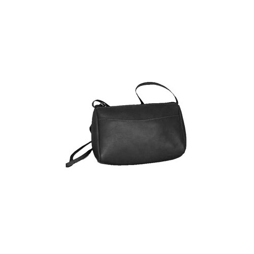 Vertical Top Zip Mini Shoulder Bag