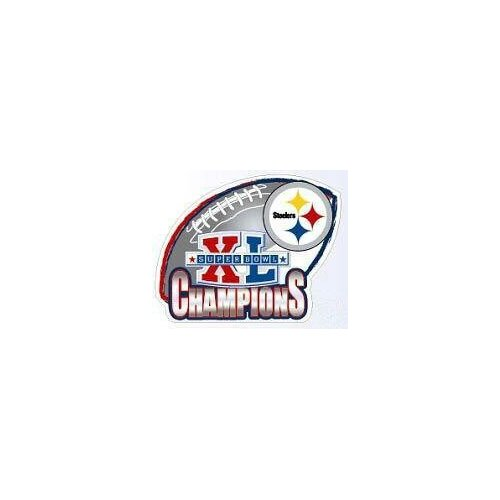 NFL Super Bowl XL Steelers Car Magnet - Pittsburgh Steelers