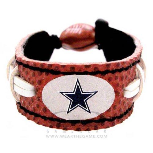 NFL Team Leather Classic Wristband